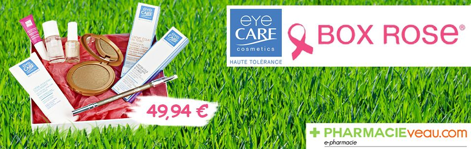 Bannière eye Care Box Rose