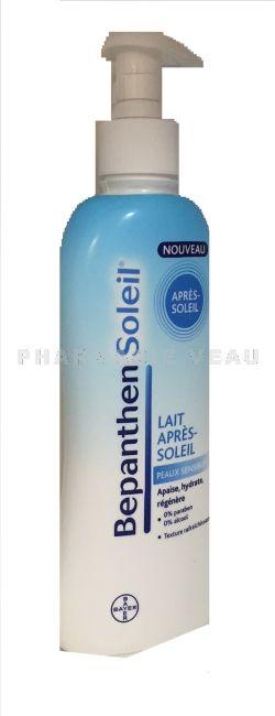 Bepanthen soleil lait apr s soleil peaux sensibles 200ml pharmacie veau en ligne - Bepanthen coup de soleil ...