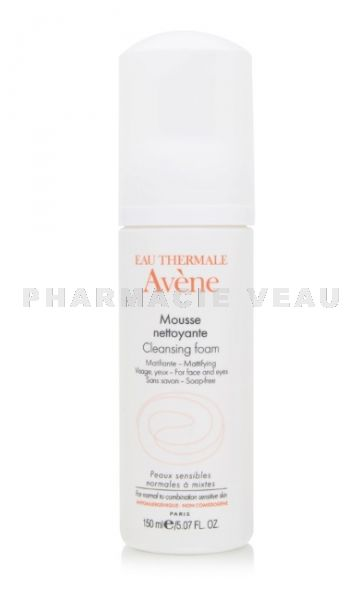 AVENE Mousse Nettoyante Matifiante 150 ml