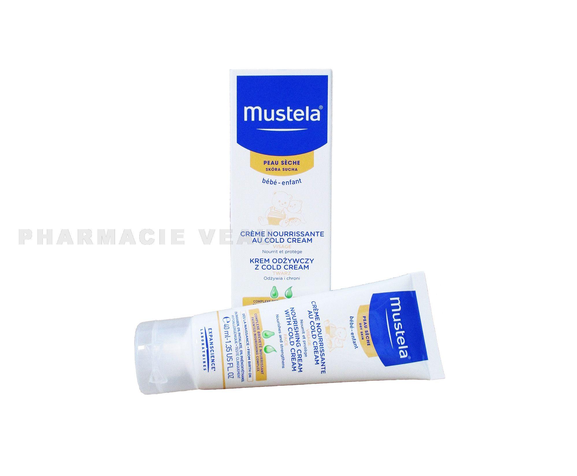 mustela b b cold cream nutri protecteur 40ml pharmacieveau. Black Bedroom Furniture Sets. Home Design Ideas