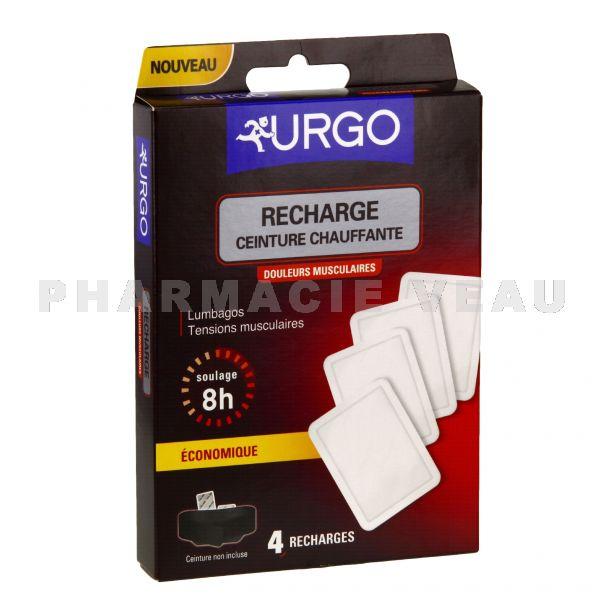 URGO Recharge Ceinture Chauffante Douleurs Musculaires x4 ... 69bf9f3082f