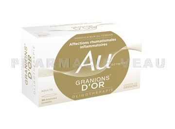GRANION d'OR 30 ampoules - Rhumatismes, Douleurs Articulaires