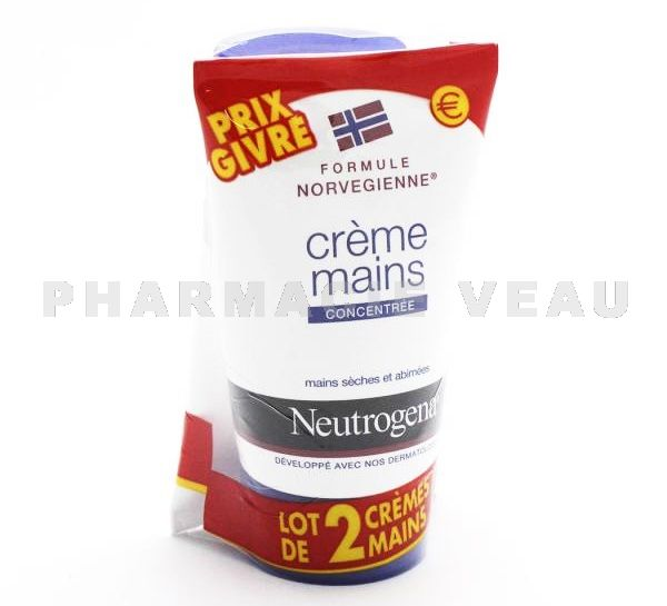 NEUTROGENA Creme Mains Concentrée LOT DE 2X 50ml