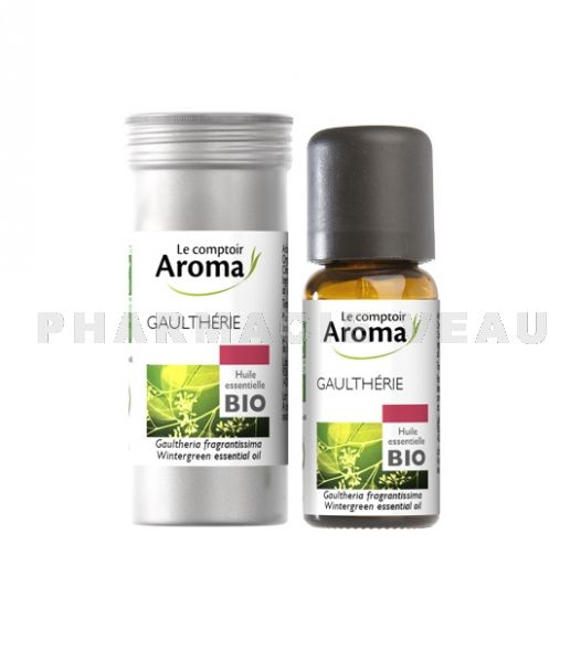 GAULTHERIE Huile Essentielle BIO (10ml) Le Comptoir Aroma