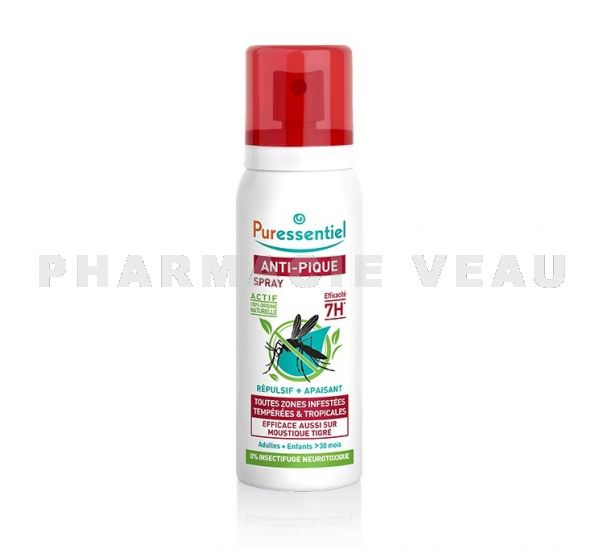 PURESSENTIEL ANTI-PIQUE Spray Repulsif & Apaisant 75ml