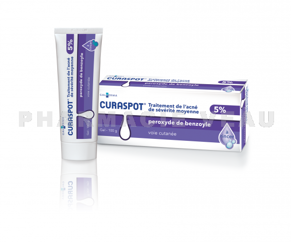 CURASPOT 5 % Gel Boîte de 1 Tube de 100 grammes