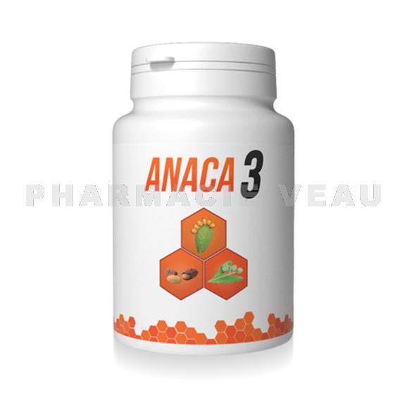 ANACA3 Perte de poids MINCEUR (pilulier de 90 gélules