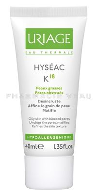 URIAGE HYSEAC K18 Crème anti imperfections 40 ml