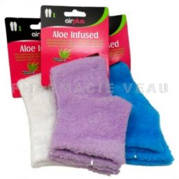 AIRPLUS Chaussettes Hydratantes Aloe Infused 1 paire blanc/bleu/violet