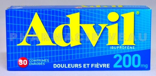 advil 200mg bt de 30 cps vente en ligne france. Black Bedroom Furniture Sets. Home Design Ideas