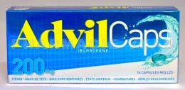 ADVILCAPS 200 mg boîte 16 capsules molles
