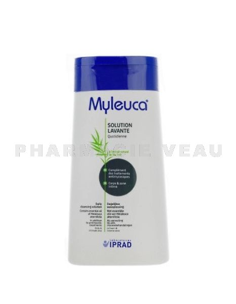 MYLEUCA Solution Lavante Corps et Zone intime à l'extrait de Tea Tree (100ml)