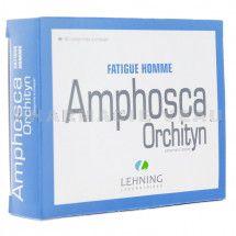 AMPHOSCA ORCHITYN - Homéopathie asthénie homme (60 cp) - Pharmacie VEAU