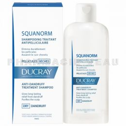 DUCRAY SQUANORM Shampooing Pellicules Sèches flacon 200 ml