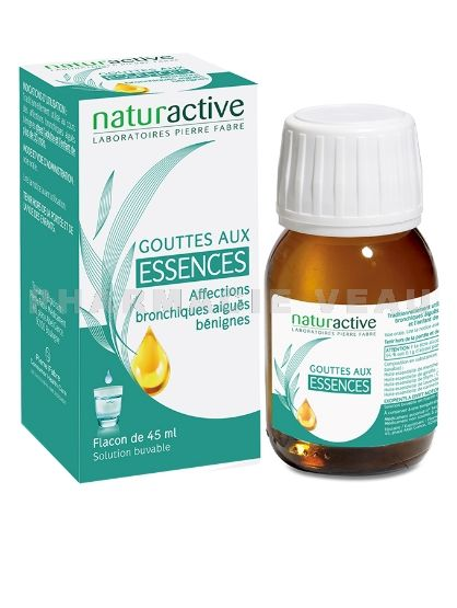GAE Gouttes aux essences (flacon 45 ml) Naturactive