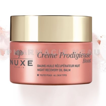 NUXE CREME PRODIGIEUSE Boost Baume Huile Visage NUIT (50ml)