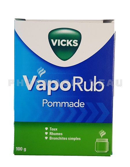 vicks vaporub pommade pot 100 gr pharmacie veau vente en ligne. Black Bedroom Furniture Sets. Home Design Ideas