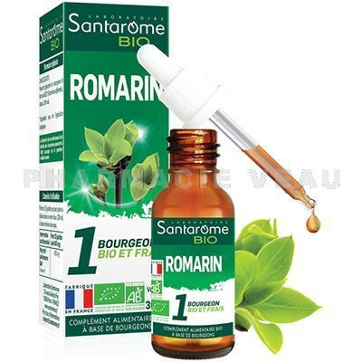 SANTAROME BIO Bourgeons ROMARIN (30ml)