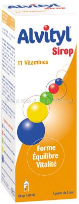 ALVITYL Sirop Multi-vitamines (150 ml)