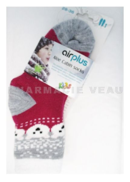 AIRPLUS Chaussettes Hydratantes Ours Polaire Enfant (Taille 28-36)