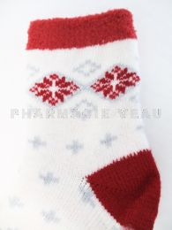 AIRPLUS Chaussettes Hydratantes Flocons Rouges Taille 35-41