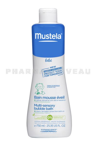 MUSTELA Bain Mousse Eveil Flacon 750 ml