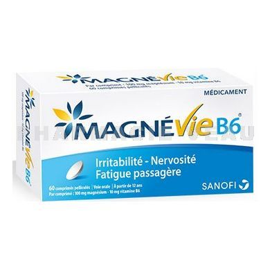 MAGNEVIE B6 100MG (60 comprimés)