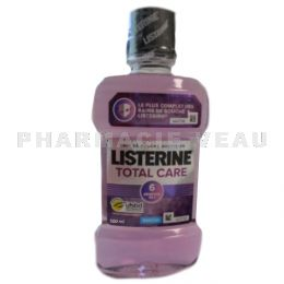 LISTERINE Bain de bouche Total Care Menthe 500ml