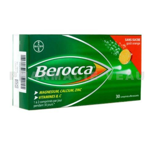 d3b696849d0 BEROCCA (30 comprimés effervescents)- Pharmacie Veau (France)