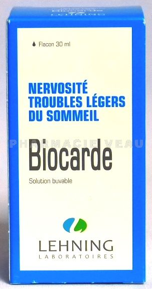 BIOCARDE Gouttes Buvables flacon de 30 ml