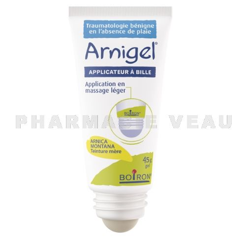 ARNIGEL Gel à base d'Arnica Bleus, bosses Fatigue musculaire (Roll on 45g)