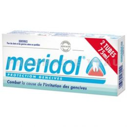 MERIDOL Dentifrice Lot 2 x 75 ml