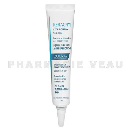 DUCRAY KERACNYL Stop Bouton Gel Boutons Acné (10ml)