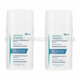 DUCRAY HIDROSIS Déodorant anti transpiration excessive lot 2 roll on x 40ml PROMO