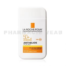 ANTHELIOS Lait Solaire 50+ VISAGE Pocket Voyage 30ml Roche Posay