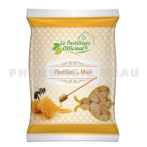 ESTIPHARMA Pastillage Officinal Pastilles au Miel (100g)