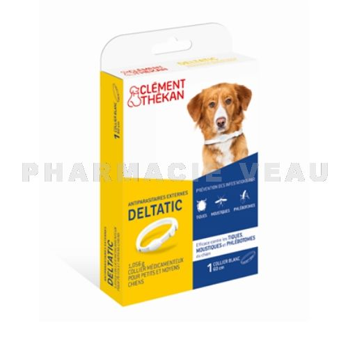 CLEMENT THEKAN Collier antiparasitaire externe chiens moyens (< 25kg)