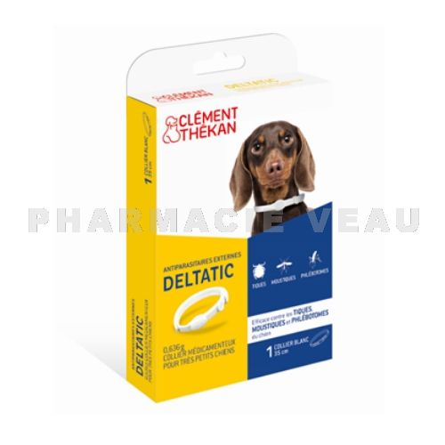CLEMENT THEKAN Collier antiparasitaire externe petits chiens (< 5kg)