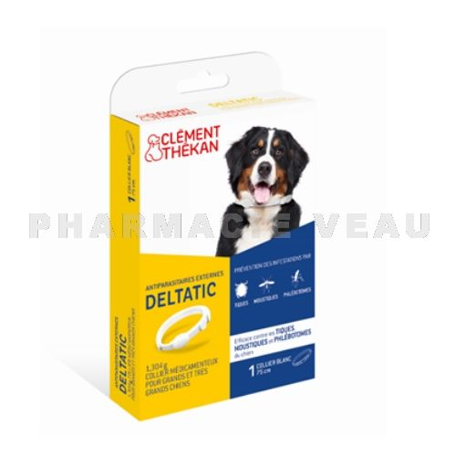 CLEMENT THEKAN Collier antiparasitaire externe grands chiens (> 25kg)
