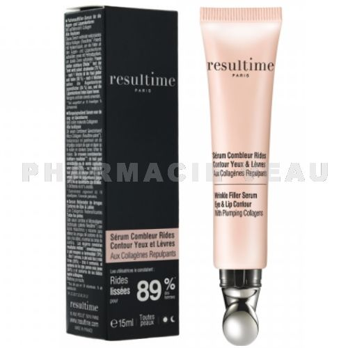 RESULTIME Sérum Contour Yeux Combleur Rides Collagène Acide hyaluronique (15 ml)