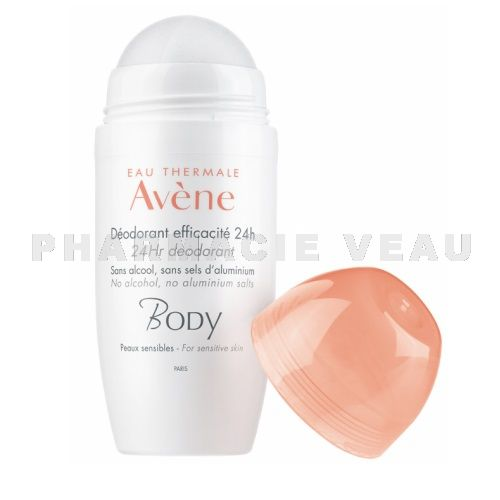 AVENE BODY Déodorant Efficacité 24H (roll on 50 ml)