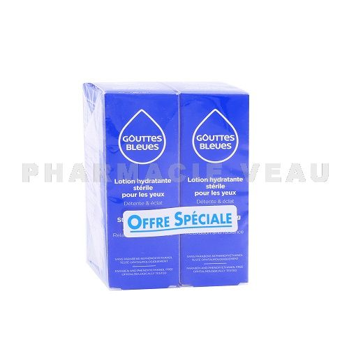 INNOXA Gouttes Bleues Collyre 2x10ml