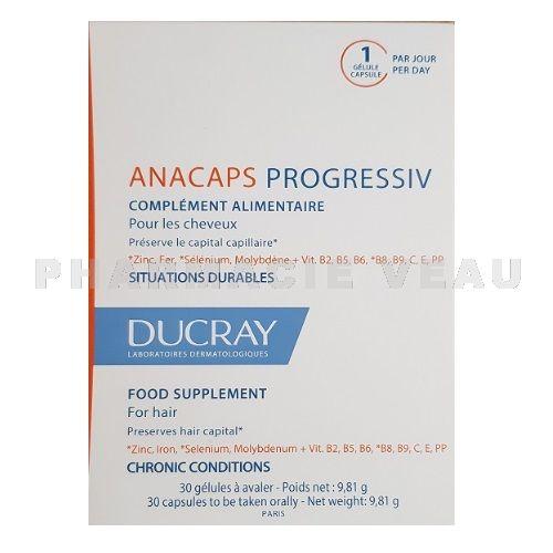Anacaps Progressiv Chute Des Cheveux 30 Capsules Pharmacie Veau