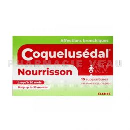 COQUELUSEDAL NOURRISSON 10 suppositoires