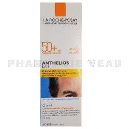 ANTHELIOS KA Crème hydratante visage protection solaire 50+ 50 ml Roche Posay