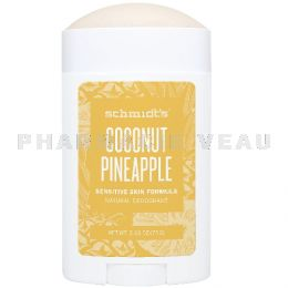 SCHMIDTS Déodorant Naturel Coco Ananas roll-on 75g