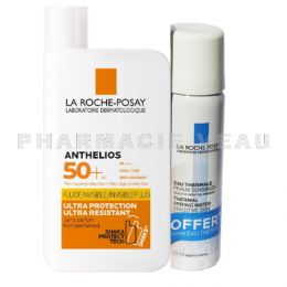 ANTHELIOS INVISIBLE SHAKA Fluide Solaire Yeux sensibles 50+ 50ml Eau Thermale OFFERTE