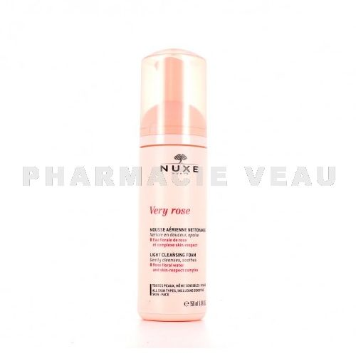 NUXE VERY ROSE Mousse Aérienne Nettoyante Micellaire (150ml)