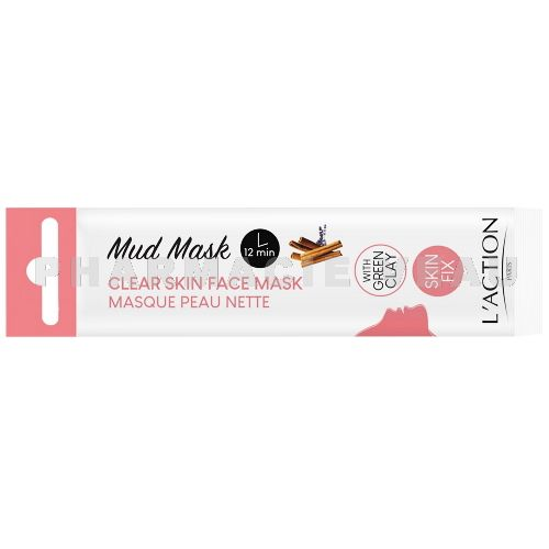 ACTION FACE MASK CLEAR SKIN Masque visage Peau nette (1 sachet unidose 15g)