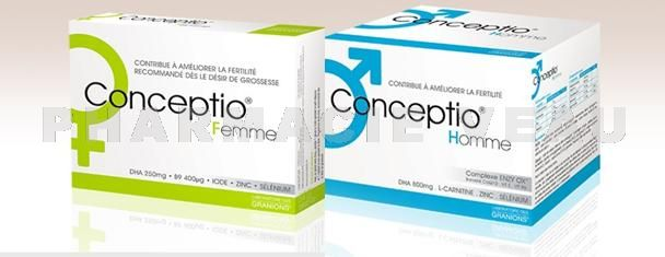 conceptio femme et acide folique